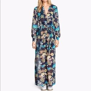 H&M Dresses - H&M floral boho chiffon maxi dress